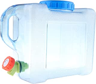 Baosity 5/8/12L Camping Water Container Carrier Bottle Drum Plastic Jerry Can with