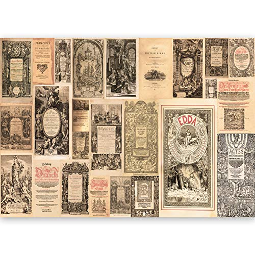 murando - XXL Fototapete Vintage 500x280 cm - Größe Format - Vlies Tapete - Moderne Wanddeko - Design Tapete - Wandtapete - Wand Dekoration - n-C-0014-a-b