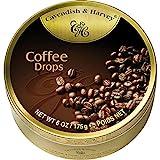 9 Dosen Cavendish & Harvey Coffee Drops Kaffee Bonbons a 175g C & H -