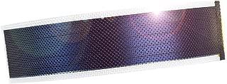 JIANG Small Flexible Thin Film Solar Power Panel Cells DIY boondocking ETFE photovoltaic 0.3W1.5V 240ma (Transparent)