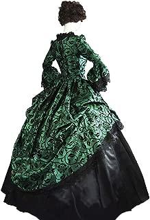 Women's Gothic Vintage Victorian Rococo Costume Dress Medieval Renaissance Ball Gown Dresses