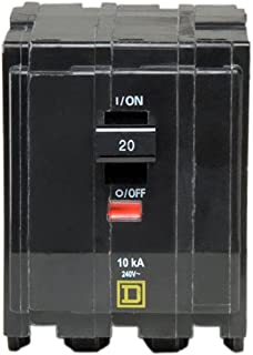 Square D by Schneider Electric QO320CP QO 20 Amp Three-Pole Circuit Breaker,
