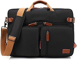 b453dfc1f6 TZZ Convertible Sac à Dos Messenger Bag Sac à bandoulière Laptop Case Sac à  Main Business