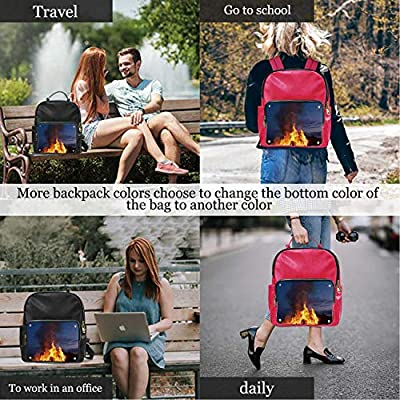 DH Colorful,Leather Sports Bag Tote ?for Women 15IN