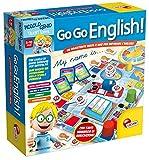 Lisciani 48892 Go Go English - Juego de preguntas y respuestas para aprender Ingles