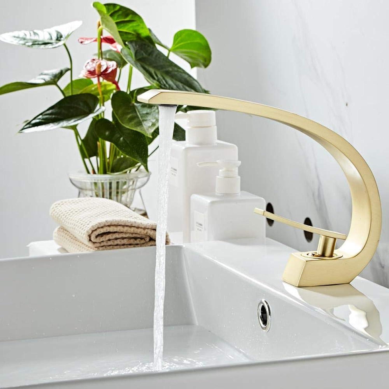 Wasserhhne Waschtischarmaturen Goldenes Badezimmer Bad Einlochmontage Wasserhahn Warm- Und Kaltwasserhahn