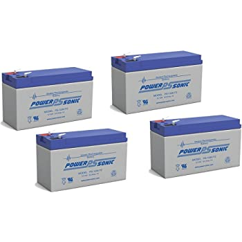 Mighty Max Battery 12V 9AH Replacement Battery for Liebert GXT3-144 UPS 4 Pack Brand Product