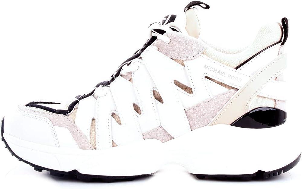 michael kors, sneakers,scarpe sportive per donna,pelle e tessuto tecnico 43r0hrfs1l