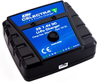 E-flite Celectra 2S 7.4V DC Li-Po Charger (Power Supply Required), EFLUC1007