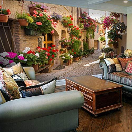 Fototapete Tropische Regenwaldblumen und -vögel Moderne Wanddeko Design Tapete Wandtapete Wand Dekoratio TV Hintergrundwand 450x300 cm