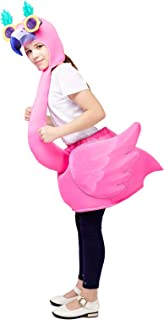 Kid's Unisex Flamingo Costume (One Size Fit Most) Pink