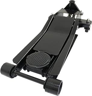 WEIMALL 【ブラック】ガレージジャッキ 低床 フロアジャッキ 3t 3トン シンプルタイプ ジャッキ ローダンウンジャッキ 油圧ジャッキ 低床ジャッキ デュアルポンプ式 ローダウン車対応 ジャッキアップ