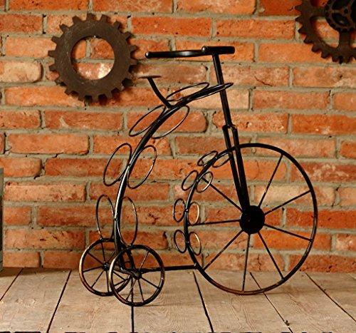 ZHDC® Décoration de meubles de vin rétro créative Décoration européenne Bicyclettes de style Multifonctions (Couleur : #2)