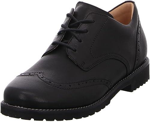 Ganter , Chaussures de Ville à Lacets pour Femme Femme Femme Noir Noir 7bb