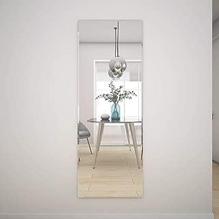Honyee The Better Bevel Frameless Rectangle Wall Mirror Wall-Mounted Full Length Mirrors (20