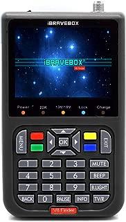 Satellite Detector, KKmoon DVB-S2 V8 Finder Digital Satellite Finder With 3.5 inch LCD Digital Display