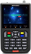 KKmoon Finder Digitale Satellitare DVB-S2 V8 con Display Digitale LCD da 3,5 Pollici