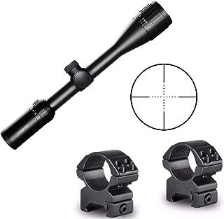 Hawke Sport Optics Vantage 4-12x40AO Mil Dot Riflescope with Mounting Rings Kit