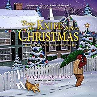 'Twas the Knife Before Christmas audiobook cover art