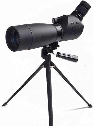 YYLOOKFAR Télescopes Monoculaires Monoculaire HD Zoom 20-60x60 Zoom Observation de Nuit Miroir d'extérieur Night Vision Télescope Ultra Clair