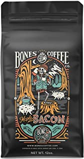 Bones Coffee Company Maple Bacon Coffee (Whole Bean Coffee)