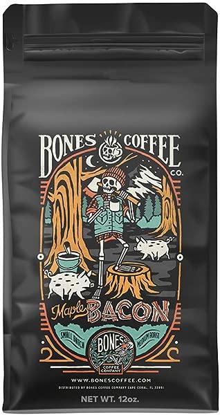 Bones Coffee Company Maple Bacon Coffee Whole Bean