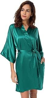 Best emerald green silk dressing gown Reviews