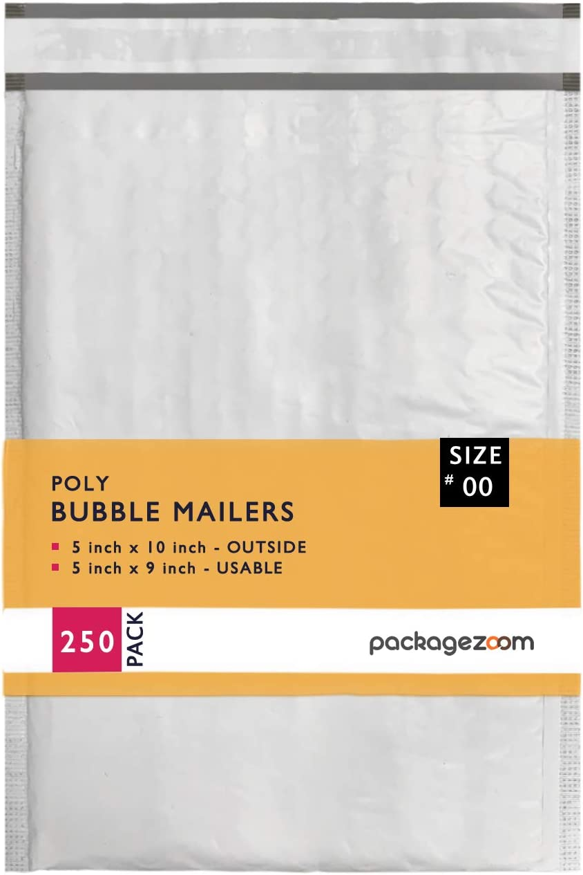 Oakland Mall Max 64% OFF 5x10 inches Poly Bubble Mailer Self Shipping Seal Envelop