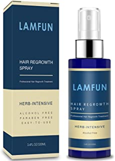 Sponsored Ad - Hair Growth Spray, LamFun Professional Hair Loss Treatment, 5% Minoxidil Solution for Hair Loss, Thinning, ...