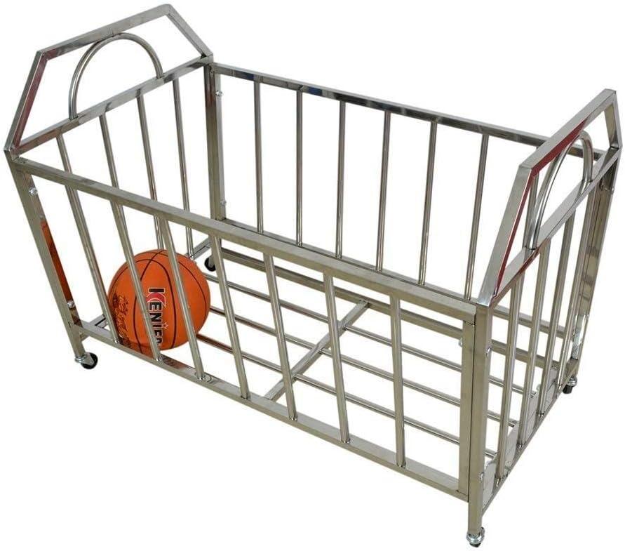LUISONG YH-KE Storage Cart Ball Rolling Stand Metal Sports Dedication Max 68% OFF Rack