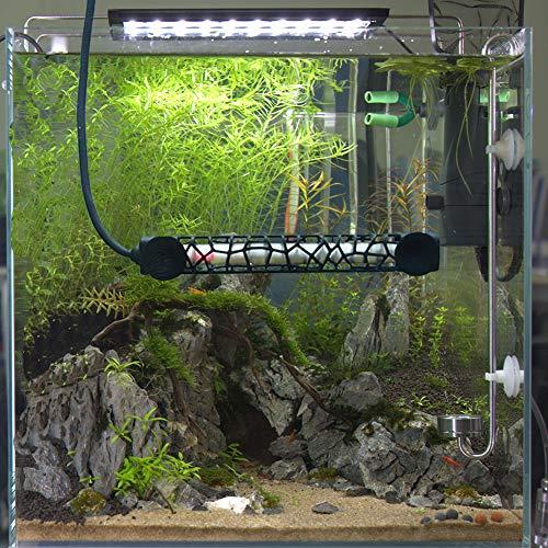 Hygger Heat-Resistant Milky Quartz Aquarium Heater, 100W