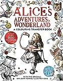 Alice in Wonderland: A Colouring Transfer Book