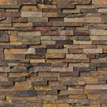 MS International California Gold Ledger Panel 6 in. x 24 in. Natural Quartzite Wall Tile - 5 pallets (600 pcs / 600 sqf)