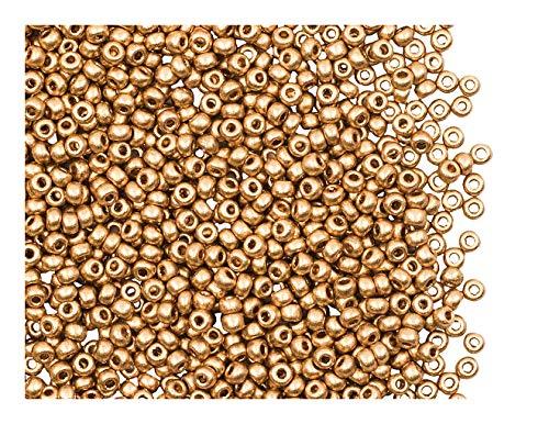 12//0 Argenté 20g environ 1600 pcs Perles de Rocailles en Verre Opaque 2mm