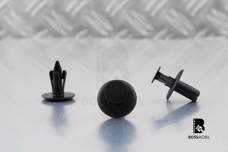 ORIGINAL BOSSMOBIL universel attachement agraf/és espace int/érieur corps 18 X 13 X 6 mm