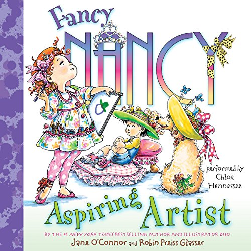 Fancy Nancy: Aspiring Artist audiobook cover art