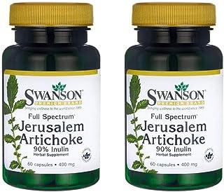 Sponsored Ad - Swanson Full Spectrum Jerusalem Artichoke 400 mg 60 Caps 2 Pack