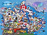 N\A Jigsaw Puzzles for Adults Grown Ups Kid National Flag, Geographic Recognition Jigsaws for Adults Puzzle Adult 500Piece