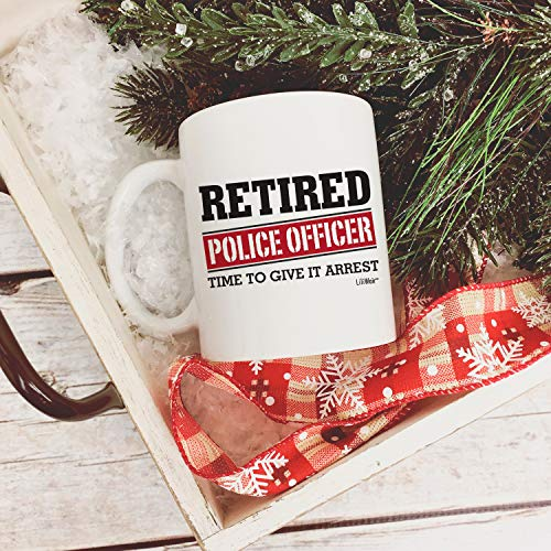Product Image 6: Retired Police Officer Gifts Mug Funny Christmas Retiring Retirement Gag Gifts for Women Men Dad Mom Retirement Coffee Mug Gift. Retired Mugs for Coworkers Office & Family. Unique Ideas for Her & Him