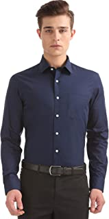 Arrow Men's Solid Slim Fit Formal Shirt