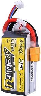 Tattu R-Line 11.1V 1300mAh 75C 3S LiPo Battery Pack with XT60 Plug for FPV Racing