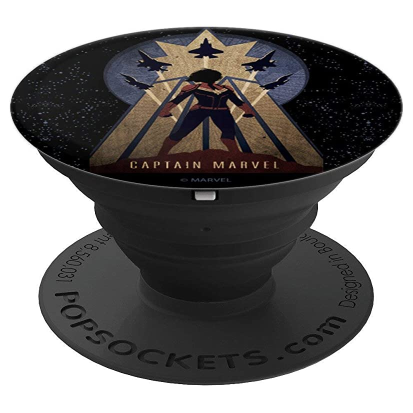 Marvel Captain Marvel Movie Space Poster - PopSockets Grip and Stand for Phones and Tablets