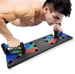 18 in1 Push Up Rack Board System Fitness Workout Training Gym Exercise Stands (9 in 1)