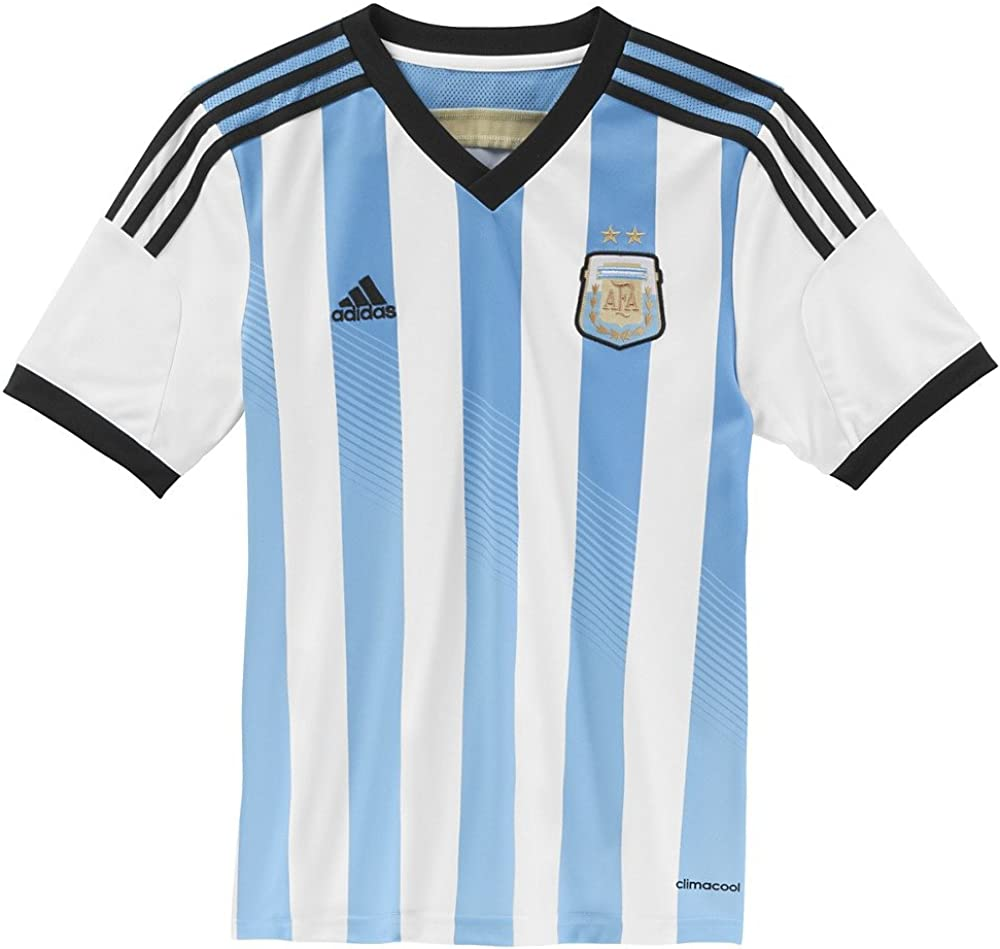adidas Argentina Home Youth Jersey 2014
