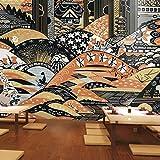 Papel Pintado 3D Estilo Japones 150X100Cm No Tejido Foto Murales Decorativos Pared Moderna Póster Fotográfico Salón Infantil Dormitorio Decoración