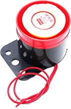 XMHF 2Pcs BJ-1 2 Wire Leads Continuous Sound Mini Electronic Piezo Buzzer Alarm Security Horn AC 220V for Home and Industry