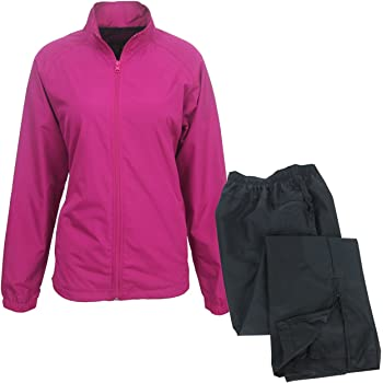 Forrester Ixspa Womens Packable Rain Suit Hot Pink M