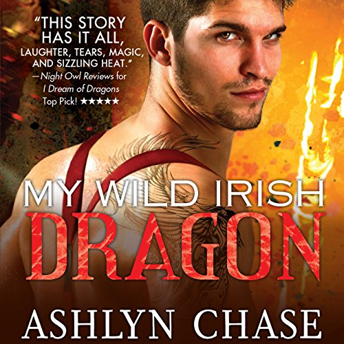 My Wild Irish Dragon audiobook cover art