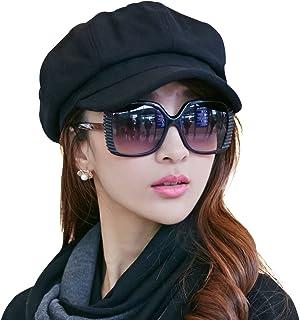 Comhats Womens Visor Beret Newsboy Hat Cap for Ladies Merino Wool