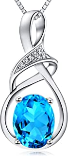 Fine Jewelry Natural Gemstone Gifts for Women Sterling...